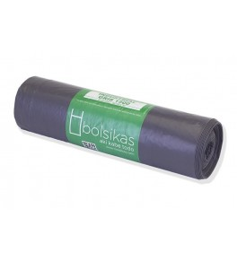BOLSA BASURA 85X105 GRIS...