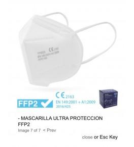 MASCARILLA FFP2 BLANCO